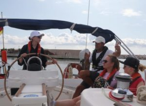 White Wake sailing - Private sailing tuition in Croatia